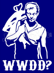 WWDD What Would Daryl Do The Walking Dead Decal Sticker DM