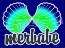 Mermaid Merbabe 1 Decal Sticker