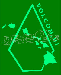 Volcom Hawaiian Islands Edition Decal Sticker
