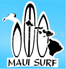 Maui Surf 2 Decal Sticker
