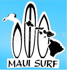 Maui Surf 2 Decal Sticker
