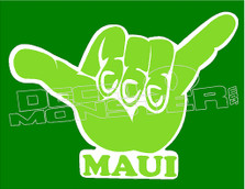Shaka Maui 11 Decal Sticker