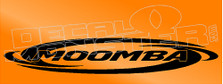 Moomea Boats Logo Decal Sticker