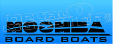 Moomba Board Boats Decal Sticker