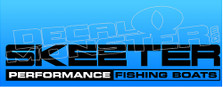 Skeeter Performance Fishing Boats Decal Sticker