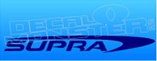 Supra Boats Logo 2 Decal Sticker