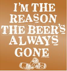 Drinks Beer Drinker Quote 2 Decal Sticker