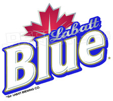 Drinks Beer Labatt Blue Edition Decal Sticker