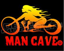 Man Cave Street Cruiser Edition Decal Sticker