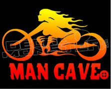 Man Cave Street Cruiser Edition Decal Sticker