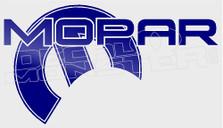 Mopar Automobiles Logo 1 Decal Sticker