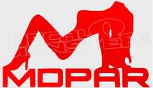 Mopar Automobiles Babe 1 Decal Sticker