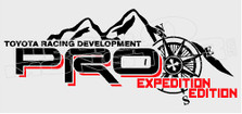 TRD Pro Expedition Edition 1 Decal Sticker