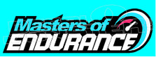 Masters of Endurance 1 Decal Sticker