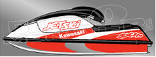 Jet Ski Kawasaki Decal Sticker