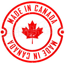 Made in Canada Seal of Approval Decal Sticker