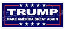 Trump Make America Great Again Campaign 1 Decal Sticker
