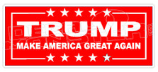 Trump Make America Great Again Decal Sticker