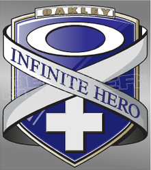 Oakley Infinite Hero Badge Decal Sticker