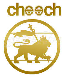 Marijuana Weed Cheech Decal Sticker