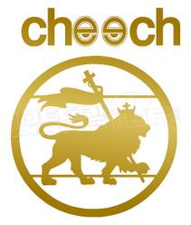 Marijuana Weed Cheech Decal Sticker