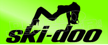ski-doo Babe 1 Decal Sticker