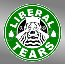 Starbucks Liberal Tears Decal Sticker