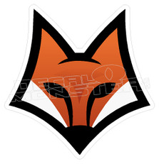 Modern Fox Decal Sticker