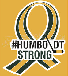 Humboldt Strong Ribbon Decal Sticker