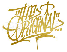 The Originals Brand Decal Sticker