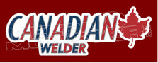 Molson Canadian Welder Decal Sticker