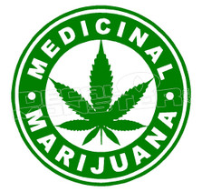 Marijuana Weed Medical Edition Decal Sticker