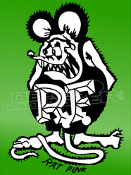 Rat Fink Silhouette 4 Decal Sticker