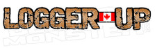 Canadian Logger Up Decal Sticker