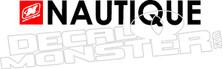 Nautique Boat Decal Sticker