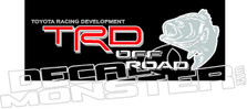 TRD Off Road Fish Decal Sticker