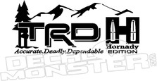 TRD Hornady Edition Decal Sticker
