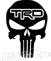 TRD Punisher Decal Sticker