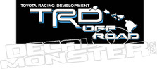 TRD Off Road Maui Decal Sticker