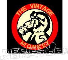 Honda Monkey Z50 Motorcycle The Vintage Monkey Decal Sticker