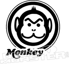 Honda Monkey Z50 Motorcycle 3 Decal Sticker