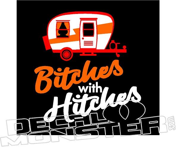 Bitches Be Trippin' Vinyl Decal Sticker Car Window
