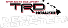 Trd Hawaii Toyota Decal Sticker