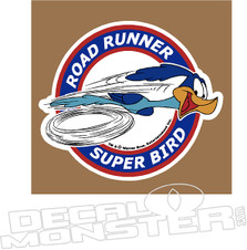 Road Runner Super Bird Mopar Decal Sticker