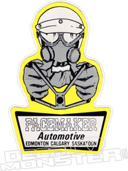 Pacemaker Edmonton Automotive Drag Racing Decal Sticker