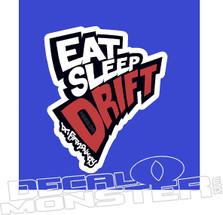 Eat Sleep Drift JDM Decal Sticker