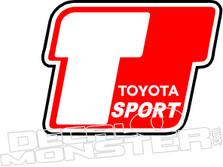 Toyota Sport Decal Sticker