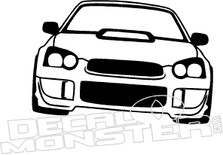 Subaru WRX JDM Decal Sticker