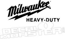 Milwaukee Heavy-Duty Decal Sticker