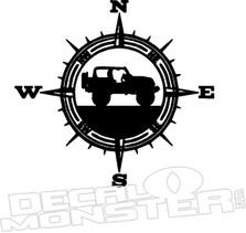 Jeep Compass 2 Decal Sticker